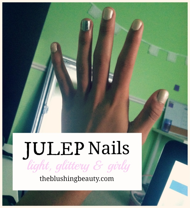 Julep Nails: Girly and Glittery | The Blushing Beauty