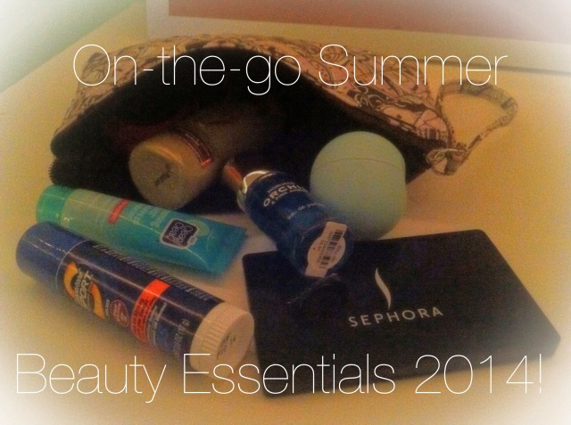 On-the-go Summer Beauty Essentials 2014 | Theblushingbeauty.com