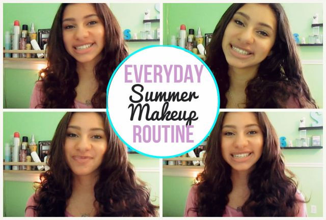 Everyday Summer Makeup Routine | Theblushingbeauty.com