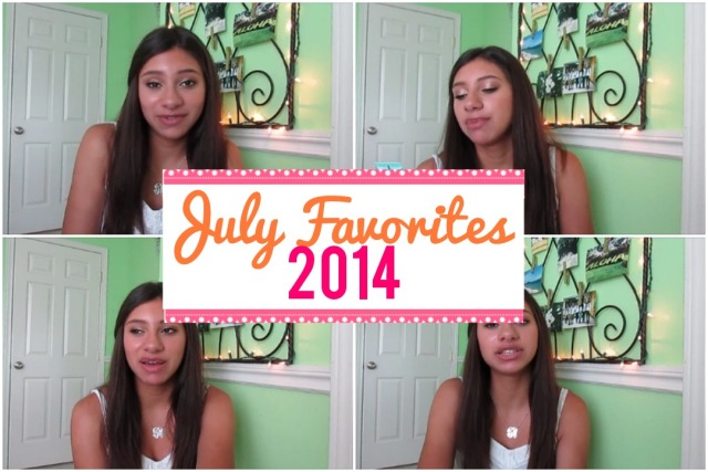 July Favorites 2014 | TheBlushingBeauty