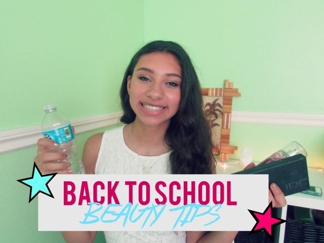 Back to School Beauty Tips! | The Blushing Beauty