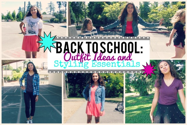 Back to School: Outfit Ideas and Styling Essentials | The Blushing Beauty