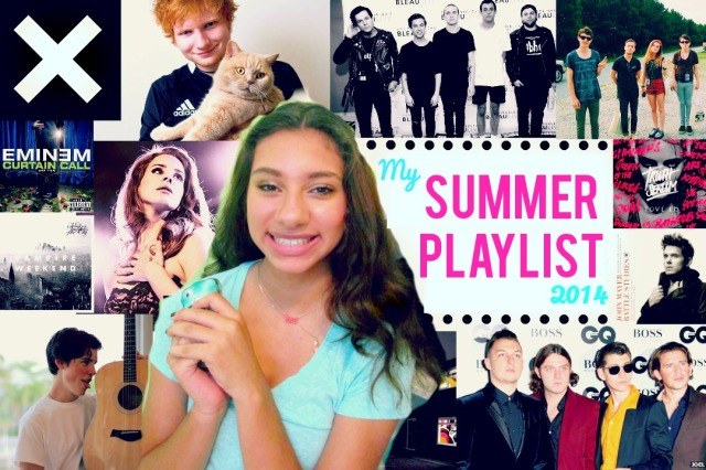 Summer Playlist 2014 | The Blushing Beauty