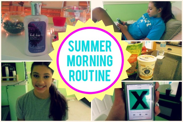 Summer Morning Routine | The Blushing Beauty