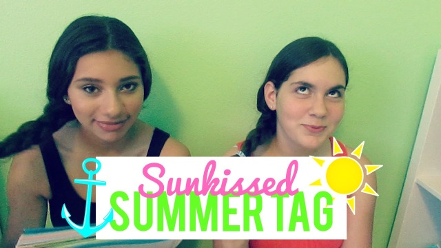Sunkissed Summer Tag ft. Cynthia! | TheBlushingBeauty