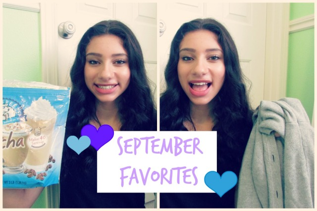 September Favorites 2014 | TheBlushingBeauty