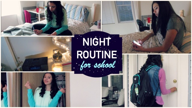 nightroutineforschool